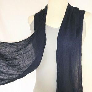 FLOWY Black Scarf/Belt #hundredsofscarves